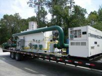 Trailer mounted oxidizer