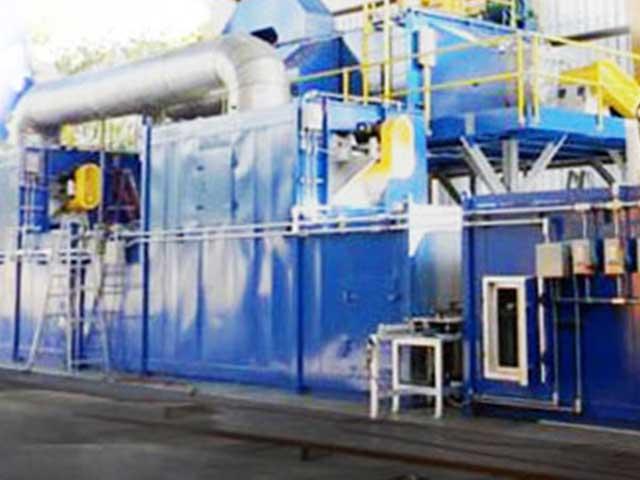 Thermal deoilers