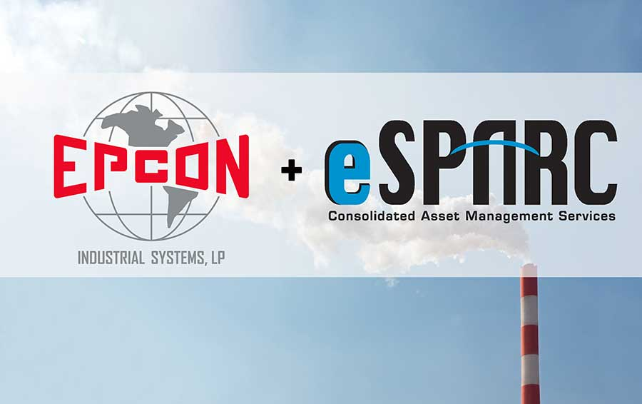 eSparc/Epcon furnace equipment manufacturer logo
