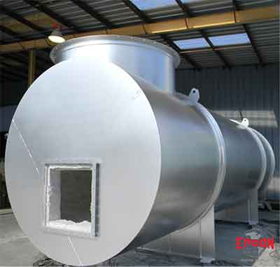 Industrial curing oven design